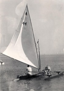 Malibu Outrigger #44 was the first of several 18' Malibu Outriggers for the Buck Family.